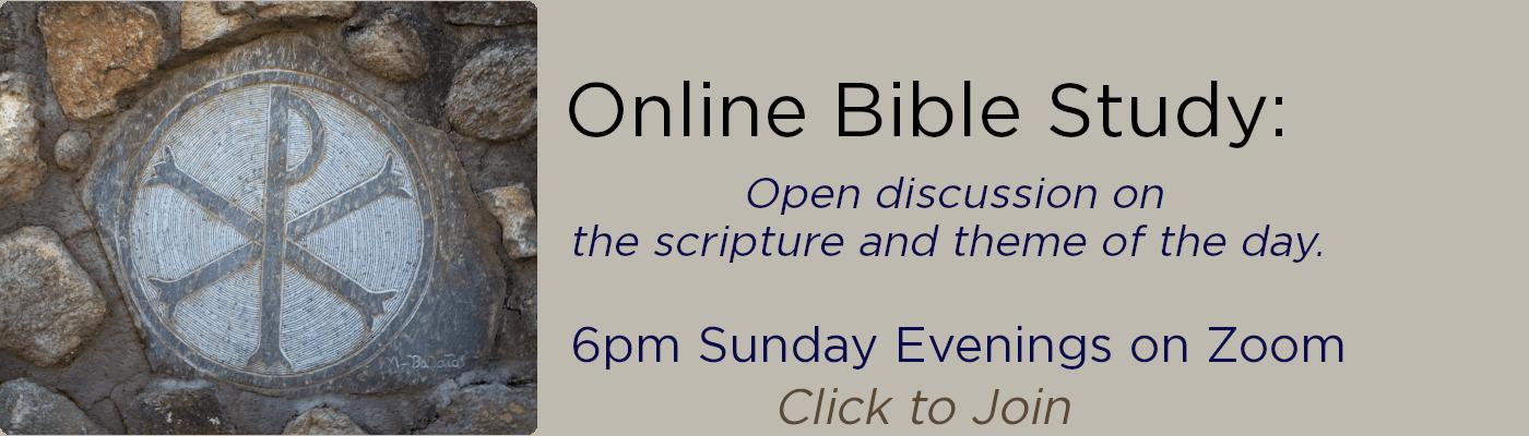 Sunday BibleStudy